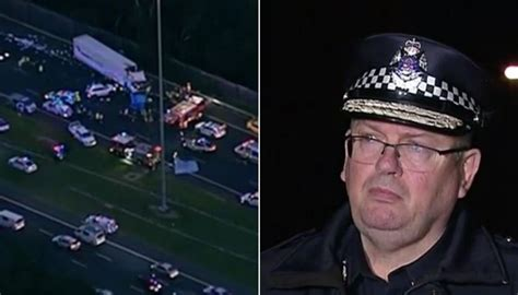 Melbourne crash: Four Victoria Police officers killed by