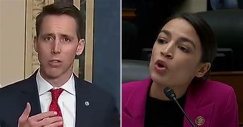 """AOC blasts Hawley """"here you are crying over a book deal"""