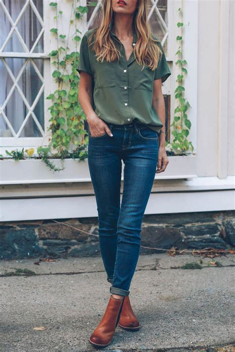 14 stylish ways to wear ankle boots in casual spring