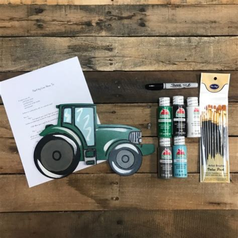 Tractor Paint Kit, Video Tutorial and Instructions - Build