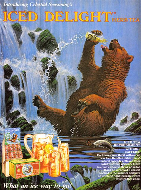 Vintage Ad #1,149: Iced Delight   This bear eventally