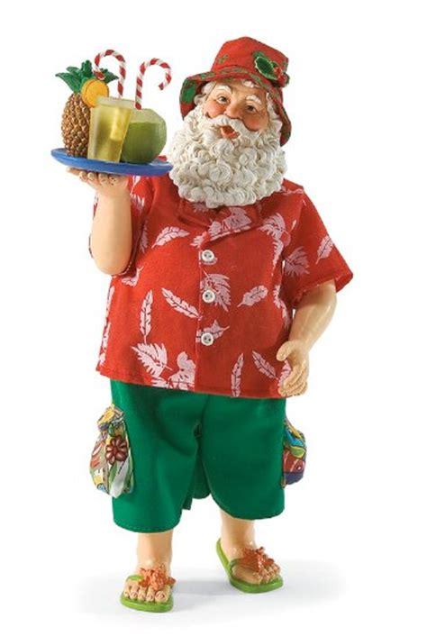 Cabana Boy | Santa Claus Figurines and Hand Carved Wooden