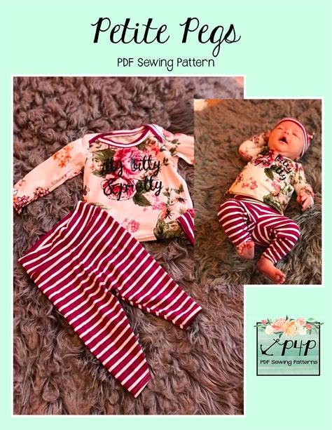 Free Petite Pegs | Patterns for pirates, Baby sewing