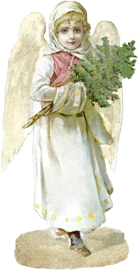 Free Victorian Angel Image - Beautiful! - The Graphics Fairy
