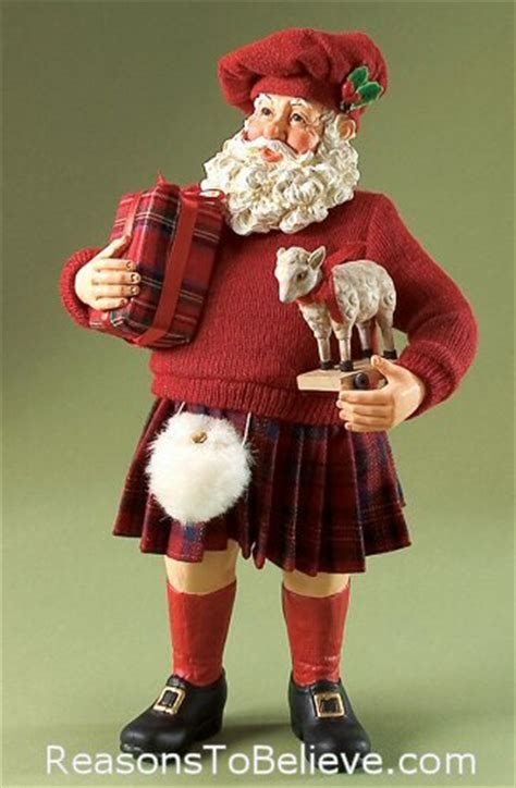 Highland Holiday | Santa Claus Figurines and Hand Carved