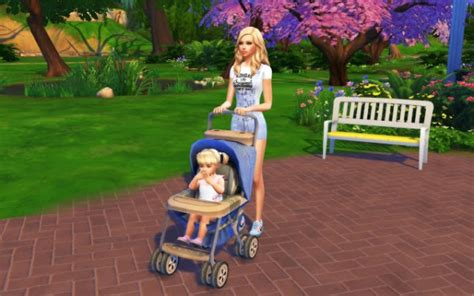 MSQ Sims: Stroller Pose Pack • Sims 4 Downloads