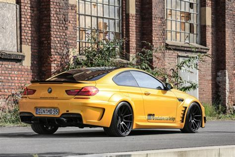BMW 6-Series 650i F13 Coupe Tuning + Sunflower Yellow