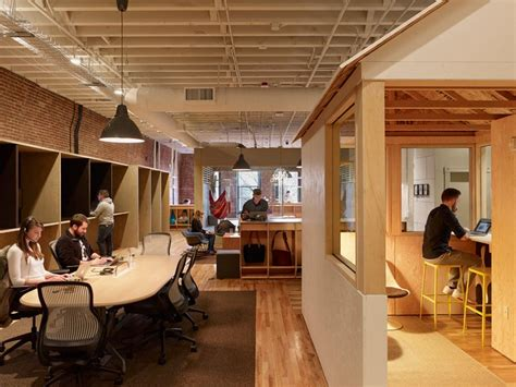 airbnb's portland office offers a diverse range of working