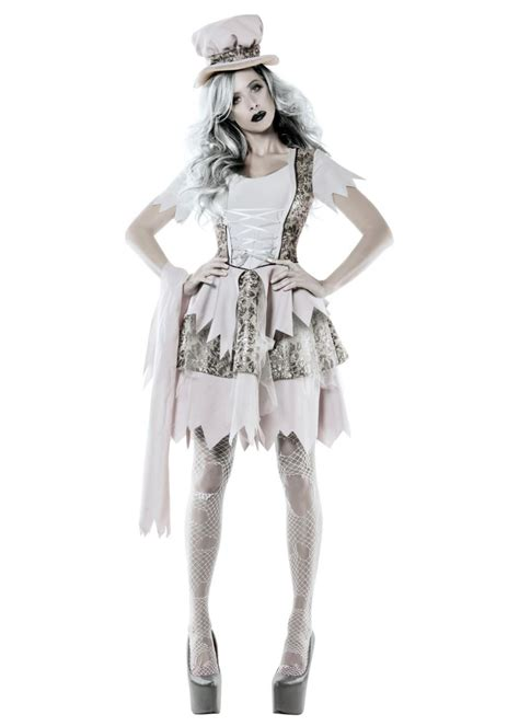 Victorian Ghost Lady Womens Costume - Ghost Costumes