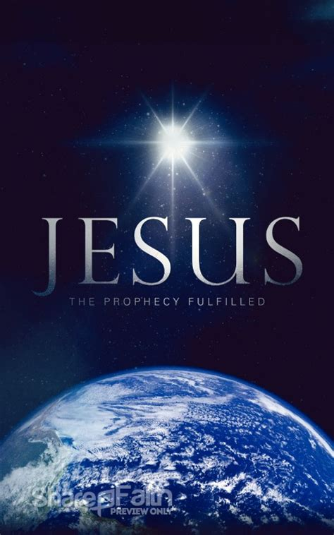 The Prophecy Fulfilled Ministry Bulletin   Christmas Bulletins