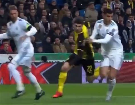 (Video): The day Christian Pulisic tore up Sergio Ramos